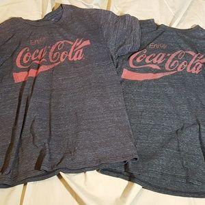 Heather Coca cola tees
